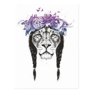 König der Löwen Postkarte