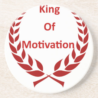 König der Motivation Getränkeuntersetzer