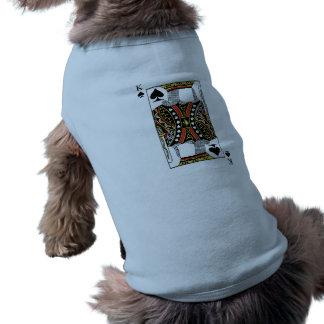 König der Spaten - addieren Sie Ihr Bild Ärmelfreies Hunde-Shirt