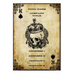 König der Spaten - Visitenkarte