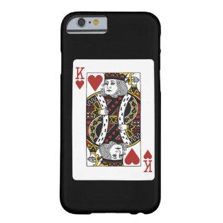 König der Spielkarte der Herzen Barely There iPhone 6 Hülle