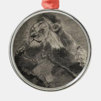 König des Berges Silbernes Ornament