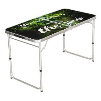 König des Dschungels Beer Pong Tisch