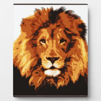 König des Dschungels Fotoplatte