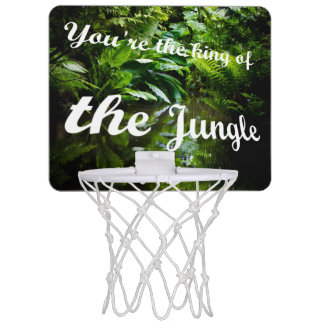 König des Dschungels Mini Basketball Netz