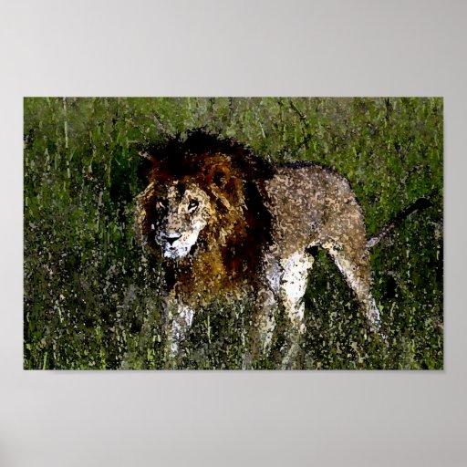 König des Dschungels Plakate