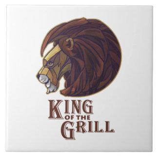 König des Grills Fliese