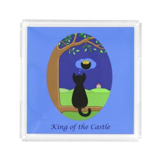 König des Schlosses Acryl Tablett