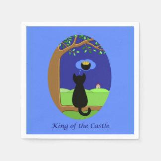 König des Schlosses Serviette