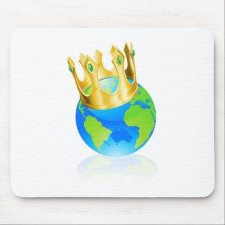 König des Weltkonzeptes Mousepad
