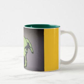 König Dog Cup Zweifarbige Tasse