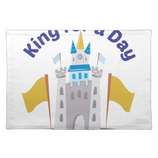 König For Day Stofftischset