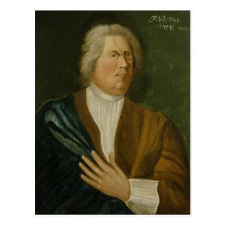 König Frederick William I von Preußen, 1737 Postkarte