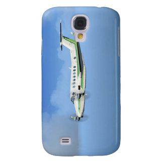 König-Luft Turboprop-Triebwerk Flugzeuge Galaxy S4 Hülle