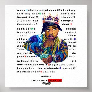 König Mics unterbewussten Plakats Poster