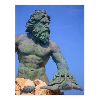 König Neptun durch Shirley Taylor Postkarte