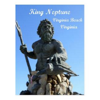 König Neptun, Virginia Beach, Virginia Postkarte