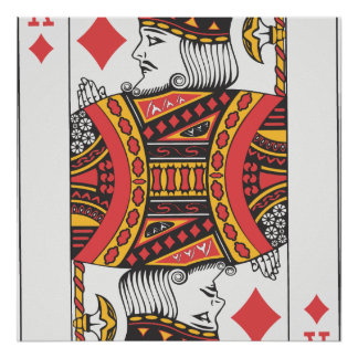 König Of Spades Poster