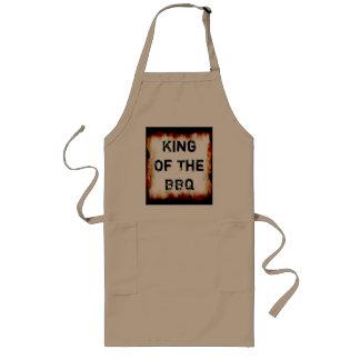 König Of The BBQ Apron Lange Schürze