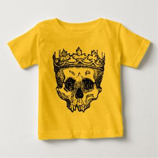 König Of The Dead, Schädel und Krone Baby T-shirt