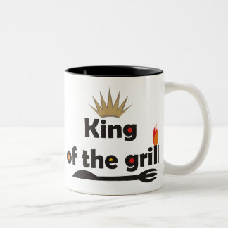 König Of The Grill Mug Zweifarbige Tasse