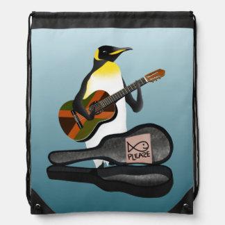 König Pinguin Busking Turnbeutel