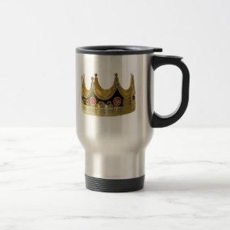 König Queen Prinzessin Crown Cup heiß Reisebecher