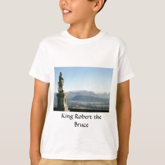 König Robert Schottland-Stirling der Bruce T-Shirt