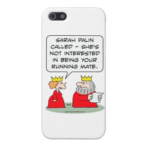 König Sarah palin Vizekandidat Etui Fürs iPhone 5
