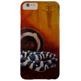 König Schlange mit Petroglyphen und altem Topf Barely There iPhone 6 Plus Hülle