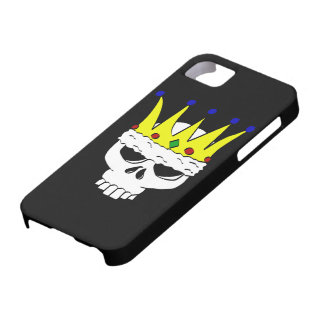 König Skull iPhone 5 Abdeckung Barely There iPhone 5 Hülle