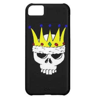 König Skull iPhone 5 Abdeckung iPhone 5C Hülle