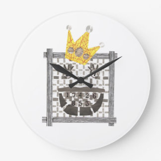 König Sudoku Clock Große Wanduhr