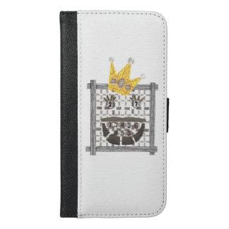 König Sudoku IPhone 6/6s plus Geldbörsen-Kasten iPhone 6/6s Plus Geldbeutel Hülle