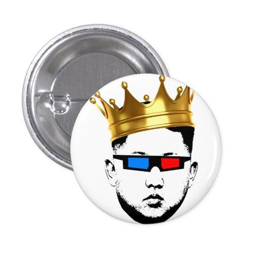 König Swag in 3D Anstecknadelbuttons