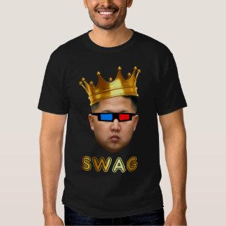 König Swag in 3D Hemd