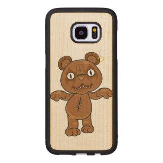 König Teddy Samsung Galaxy S7 Edge Holzhülle