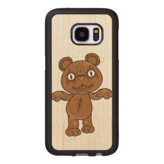 König Teddy Samsung Galaxy S7 Holzhülle