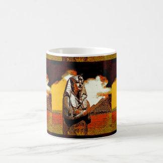 König tut Ägypterpharao Kaffeetasse