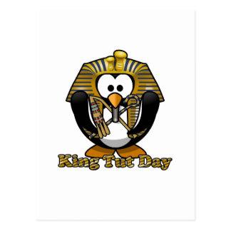 König Tut Day Postkarte