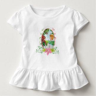 König-und Königin-Kleinkind-Rüsche-T-Stück Kleinkind T-shirt