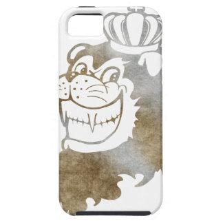König von Löwen (Gold) iPhone 5 Schutzhülle