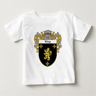 König Wappen (überzogen) Baby T-shirt