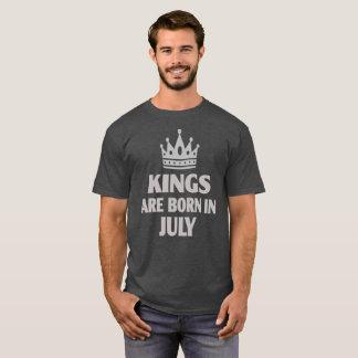 Könige sind geborenes im Juli T-Shirt