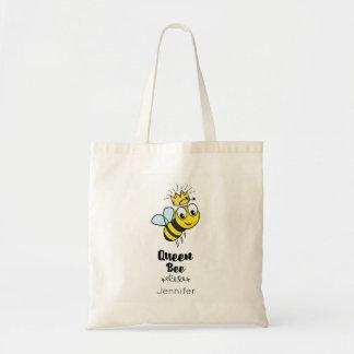 Königin-Bienen-niedliche Hummel-Biene mit der Budget Stoffbeutel