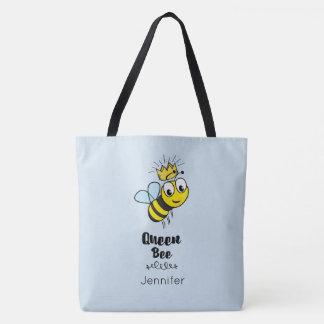 Königin-Bienen-niedliche Hummel-Biene mit der Tasche