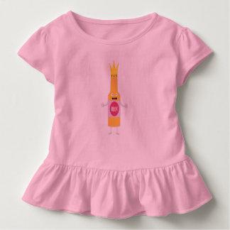 Königin-Bierflasche mit alter Frau Zfq4y Kleinkind T-shirt
