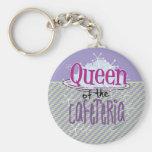 Königin der Cafeteria - Mittagessen-Dame Schlüsselanhänger
