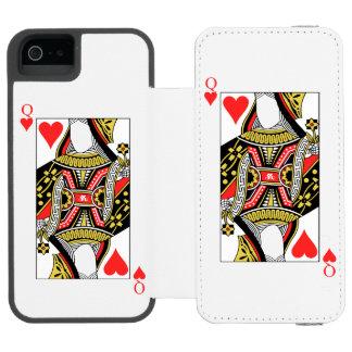 Königin der Herzen - addieren Sie Ihr Bild Incipio Watson™ iPhone 5 Geldbörsen Hülle
