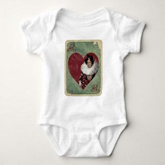 Königin der Herzen Baby Strampler